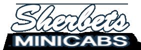 Sherbets Minicabs Logo